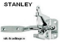 "STANLEY 4"" gate latch/catch.Remote Lockable.Zinc 1 pack with Fixings.76-3825"